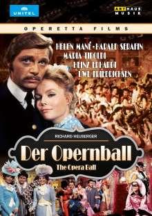 Richard Heuberger (1850-1914): Der Opernball (Operettenfilm), DVD
