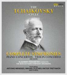 Vladimir Fedoseyev - The Tschaikowsky Cycle Vol.1-6, 6 DVDs