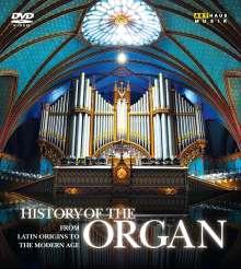 History of the Organ - History of the Organ, 4 DVDs