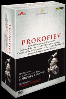 Serge Prokofieff (1891-1953): Serge Prokofieff - Complete Symphonies & Concertos, 7 DVDs
