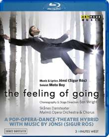 Skanes Dansteater - the feeling of going, Blu-ray Disc