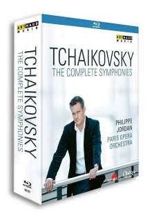 Peter Iljitsch Tschaikowsky (1840-1893): Symphonien Nr.1-6, 3 Blu-ray Discs