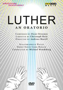 Oscar Strasnoy (geb. 1970): Luther, DVD