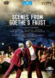 Robert Schumann (1810-1856): Szenen aus Goethes Faust, DVD