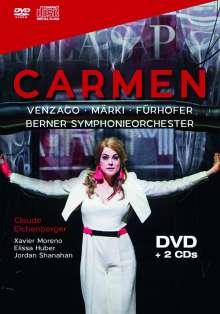 Georges Bizet (1838-1875): Carmen, 1 DVD und 2 CDs