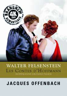 Jacques Offenbach (1819-1880): Les Contes D'Hoffmann (Walter Felsenstein-Edition / 4K Remastering 2020), DVD