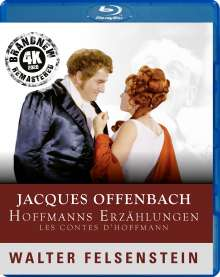 Jacques Offenbach (1819-1880): Les Contes D'Hoffmann (Walter Felsenstein-Edition / 4K Remastering 2020), Blu-ray Disc