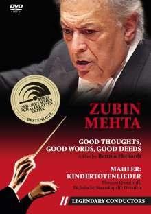 Zubin Mehta - Good Thoughts,good Words,good Deeds, DVD