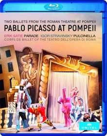 Pablo Picasso at Pompeji (2 Ballette aus dem antiken römischen Theater in Pompeji), Blu-ray Disc