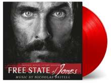 Filmmusik: Free State Of Jones (O.S.T.) (Nicholas Britell) (180g) (Limited Numbered Edition) (Red Vinyl), LP