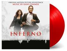 Filmmusik: Inferno (Hans Zimmer) (180g) (Limited-Numbered-Edition) (Red Vinyl), 2 LPs