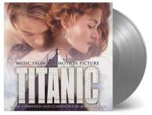 Filmmusik: Titanic (180g) (Limited-Numbered-Edition) (Solid Silver Vinyl), 2 LPs