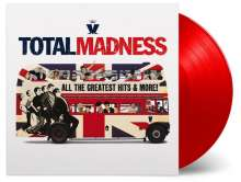 Madness: Total Madness: All The Greatest Hits & More! (180g) (Limited-Numbered-Edition) (Red Vinyl), 2 LPs