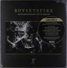 Boysetsfire: 20th Anniversary Live In Berlin (Limited-Edition) (2xBlack/2xGold/2xSilver Vinyl), 6 LPs