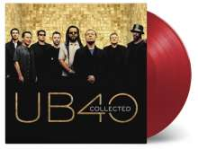 UB40: Collected (180g) (Limited-Numbered-Edition) (Red Red Wine Vinyl), 2 LPs