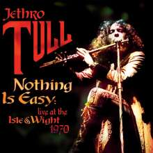 Jethro Tull: Nothing Is Easy - Live At The Isle Of Wight (180g) (Colored Vinyl), 2 LPs