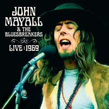 John Mayall: Live 1969 (180g) (Colored Vinyl), 3 LPs