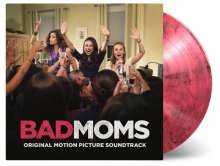 Filmmusik: Bad Moms (180g) (Limited-Numbered-Edition) (Pink & Black Mixed Vinyl), LP