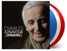 Charles Aznavour (1924-2018): Collected (180g) (Limited-Numbered-Edition) (»French Flag« Blue/White/Red Vinyl), 3 LPs