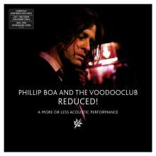 Phillip Boa & The Voodooclub: Reduced! - A More Or Less Acoustic Performance (remastered) (180g) (Limited-Edition) (White Vinyl), 2 LPs