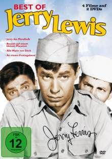 Jerry Lewis - Best of Jerry Lewis (4 Filme auf 2 DVDs), 2 DVDs