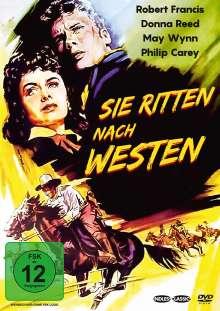 Sie ritten nach Westen, DVD