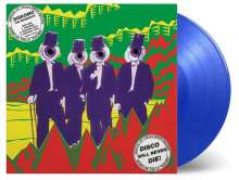 The Residents: Diskomo/Goosebump EP (180g) (Limited-Edition) (Translucent Blue Vinyl) (45 RPM), LP