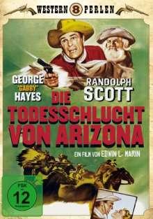 Die Todesschlucht von Arizona, DVD