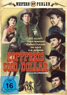 Kopfpreis 5000 Dollar, DVD