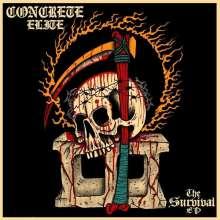 "Concrete Elite: The Survival EP (Cream Vinyl), Single 12"""