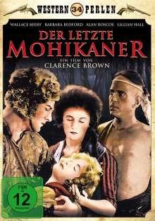 Der letzte Mohikaner (1920), DVD