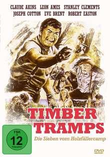 Timber Tramps - Die Sieben vom Holzfällercamp, DVD
