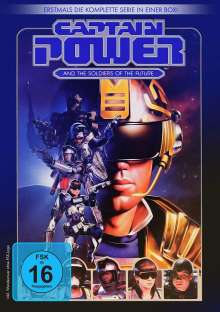 Captain Power (Komplette Serie), 4 DVDs