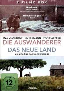 Die Auswanderer / Das neue Land, 2 DVDs