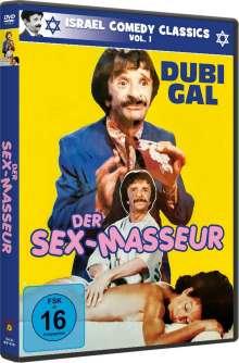 Der Sex-Masseur, DVD
