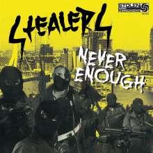 Stealers: Never Enough, LP