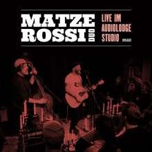 Matze Rossi: Musik ist der wärmste Mantel (Live) (Limited Edition) (Cyan Vinyl), LP
