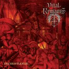 Vital Remains: Dechristianize, CD