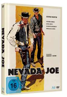 Nevada Joe (Blu-ray & DVD im Mediabook), 1 Blu-ray Disc und 1 DVD