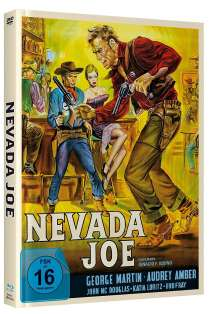 Nevada Joe (Blu-ray & DVD im Mediabook), 1 Blu-ray Disc und 1 DVD