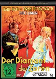 Der Diamant des Zaren, DVD