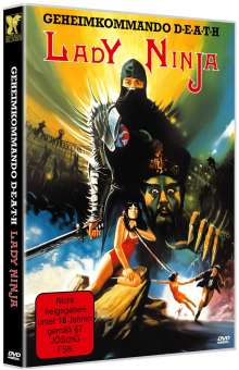 Geheimkommando D-E-A-T-H - Lady Ninja, DVD