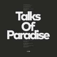 Slut: Talks Of Paradise (180g) (Limited Edition) (Crystal Clear Vinyl), LP
