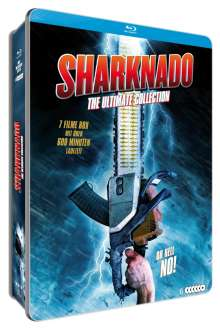 Sharknado - The Ultimate Collection (Blu-ray in Metallbox), 6 Blu-ray Discs