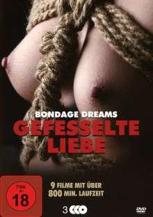 Gefesselte Liebe (Bondage Dreams Box-Edition), 3 DVDs