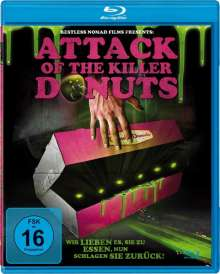 Attack of the Killer Donuts (Blu-ray), Blu-ray Disc