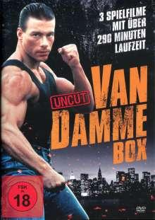 Van Damme Action-Box (3 Filme-Uncut-Edition), DVD