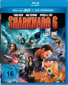 Sharknado 6 - The Last One (3D Blu-ray), Blu-ray Disc