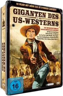 Giganten des US Westerns (Deluxe Metallbox mit 15 Filmen auf 6 DVDs), 6 DVDs