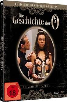 Die Geschichte der O (Komplette TV-Serie) (Mediabook), 3 DVDs